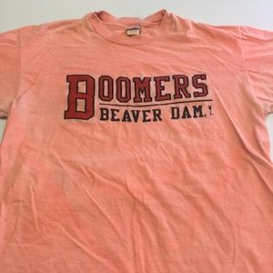 Boomers Beaver Dam T Shirt Vintage 90s Statement M